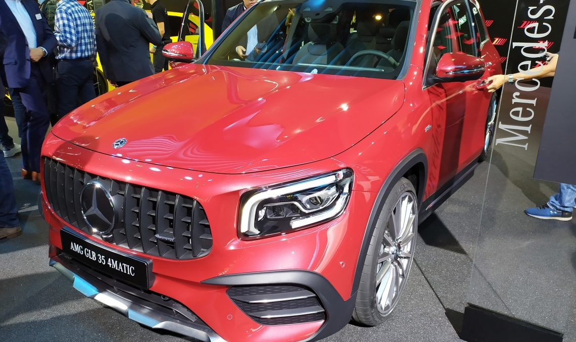 LIVE IAA 2019: Mercedes-AMG GLB 35 4Matic 7 seater sporty SUV debuts in Frankfurt