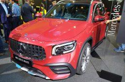 LIVE IAA 2019: Mercedes-AMG GLB 35 4Matic 7 seater sporty SUV debuts in Frankfurt