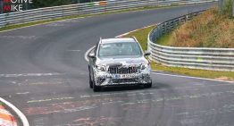 Video: Mercedes-AMG GLB 45 spied on the Nürburgring