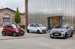 Official: Update for smart EQ ForTwo and EQ ForFour electric city cars