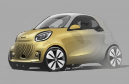 Smart EQ Fortwo and EQ Forfour electric facelifted models heading to Frankfurt