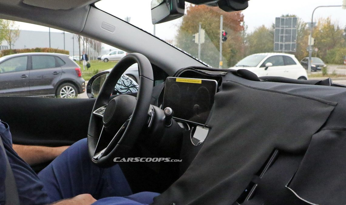 Mega scoop: The interior of the electric Mercedes-Benz EQS limo revealed