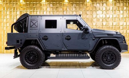 Armored Mercedes-Benz G500 4×4² (2)