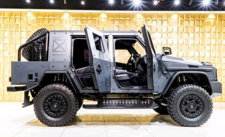 Armored Mercedes-Benz G500 4×4² (5)