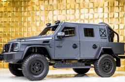 Armored Mercedes-Benz G500 4×4² – The invincible