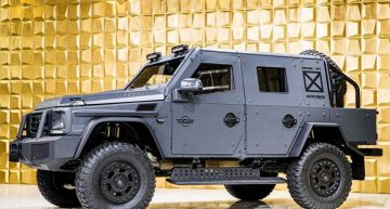 Armored Mercedes-Benz G500 4×4² – The invincible