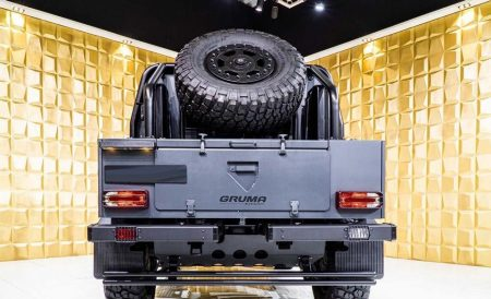 Armored Mercedes-Benz G500 4×4² (8)