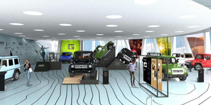 Once upon a time… G-Class special exhibition at the Mercedes-Benz Museum
