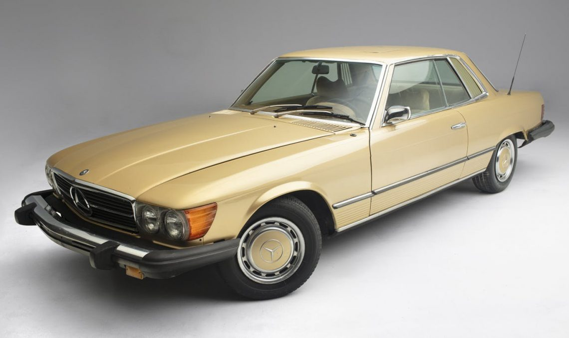Mercedes-Benz 450 SLC that belonged to Elvis Presley goes under hammer