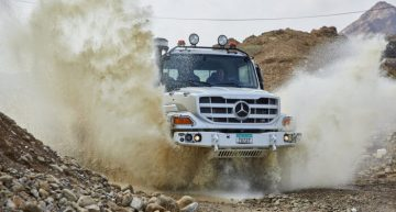The new Mercedes-Benz Zetros – The unbeatable off-roader