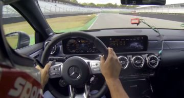 Video: Mercedes-AMG A 45 S, barely faster than the Renault Megane RS?