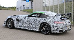 Video: Mercedes-AMG GT Black Series spied on the Nurburgring
