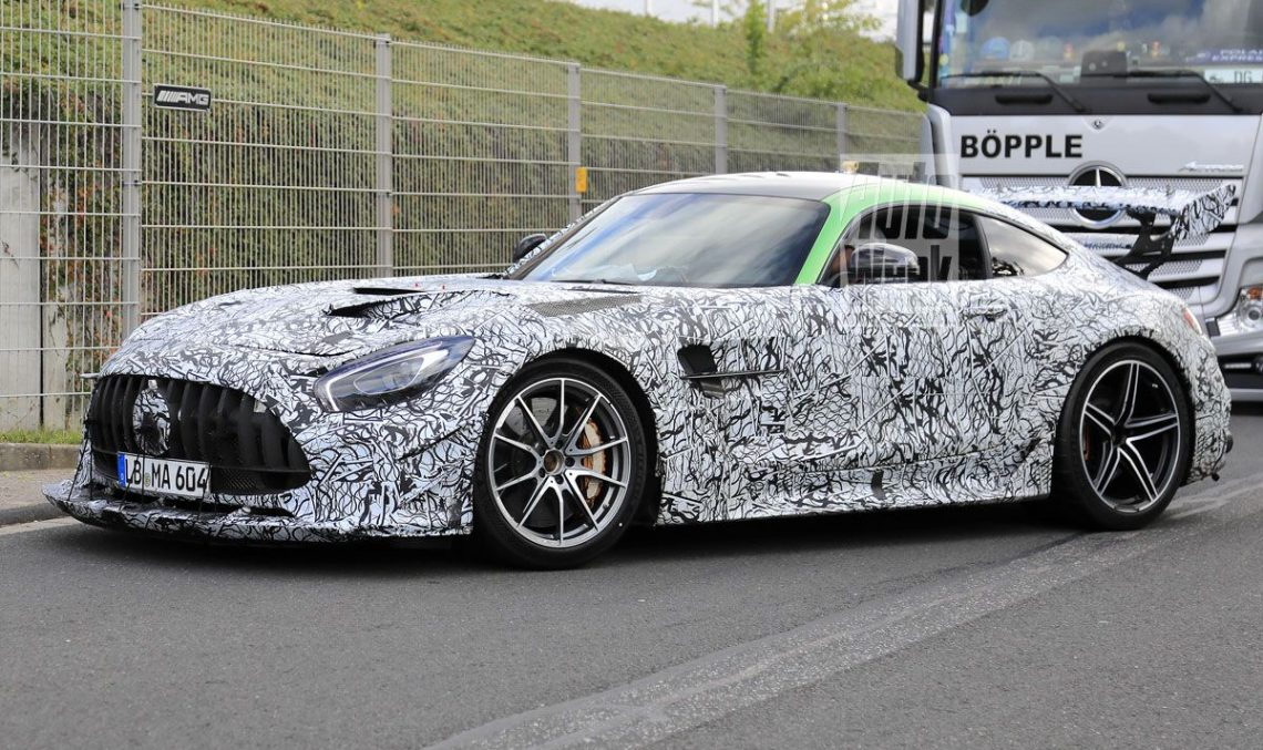 Caught: Mercedes-AMG GT Black Series shows up in spy pics