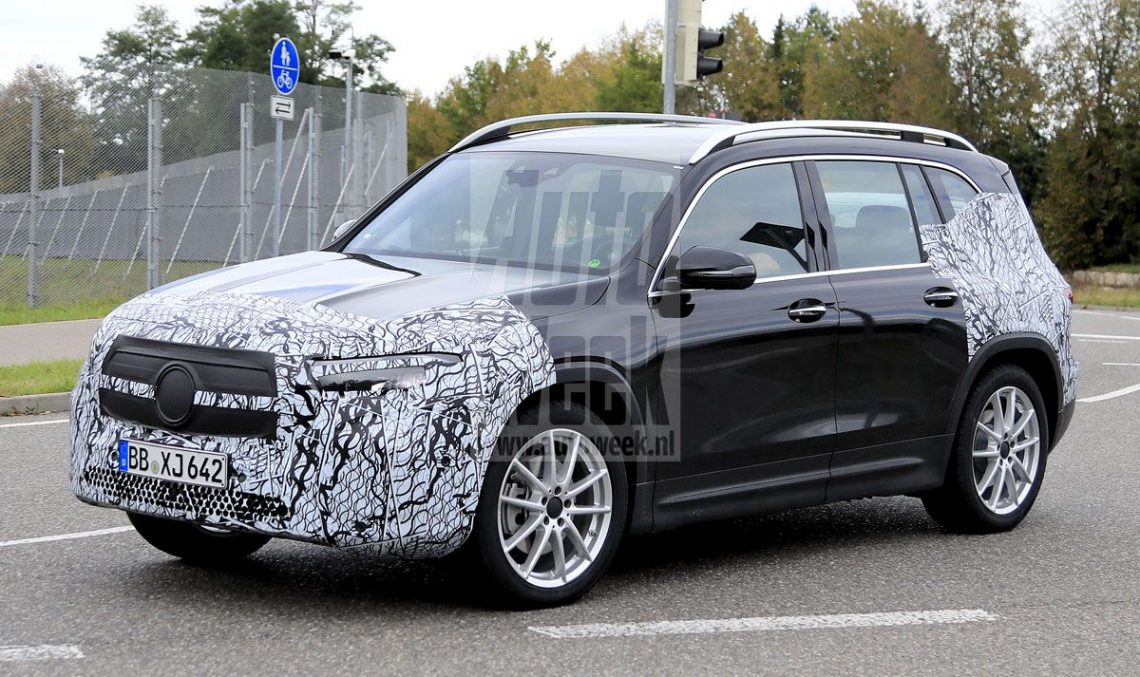 Electric SUV: Mercedes-Benz EQB in final production form