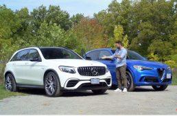 Video test: Mercedes-AMG GLC 63 versus Alfa Stelvio Quadrifoglio
