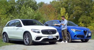 Video test: Mercedes-AMG GLC 63 versus Alfa Stelvio Quadrifoglio