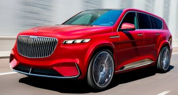 Mercedes-Maybach GLS render, very close to the real deal