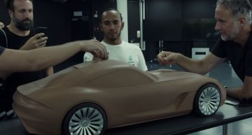 Video: Lewis Hamilton leaks possible new Mercedes-AMG GT coupe