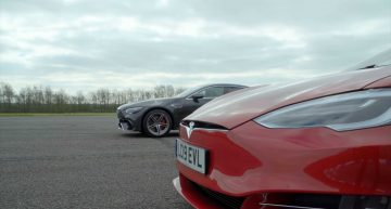 Mercedes-AMG GT 63 vs Tesla Model S – The very inappropriate drag race
