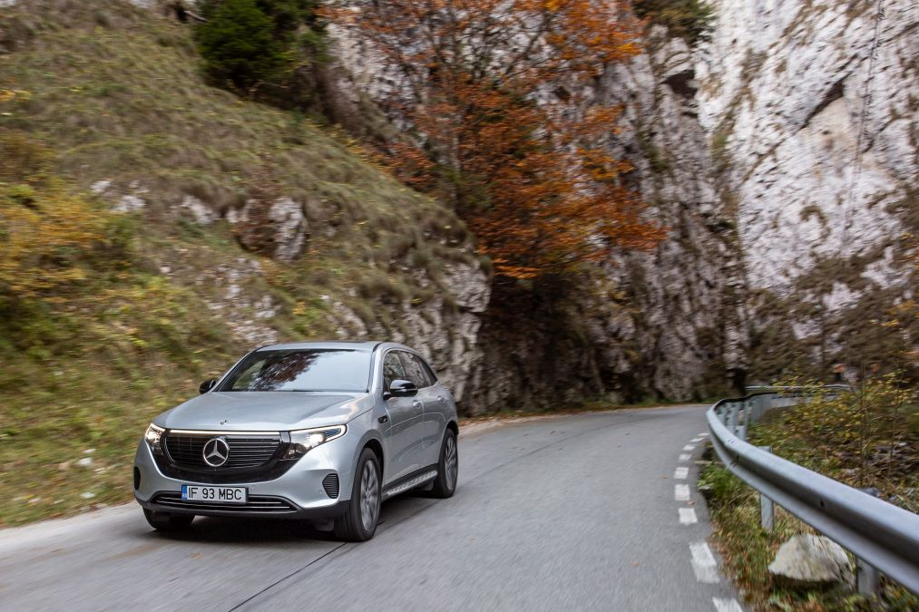Test Mercedes-Benz EQC