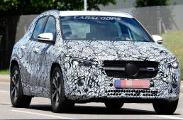 2020 Mercedes GLA set to debut online in just a few weeks