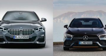 BMW 2 Series Gran Coupe vs Mercedes-Benz CLA: first static comparison