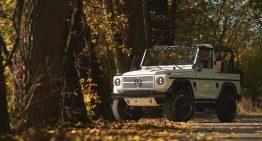 1,000 hours of restoration later – Mercedes 'Wolf' G-Class