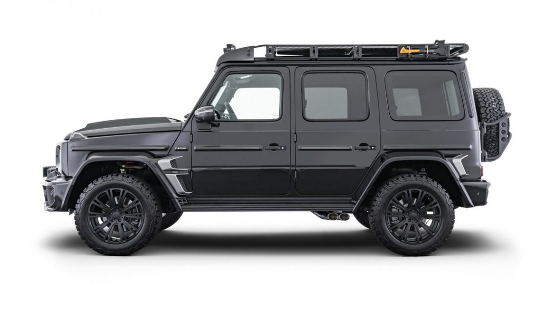 Mercedes G-Class Adventure signed by Brabus: Always more!