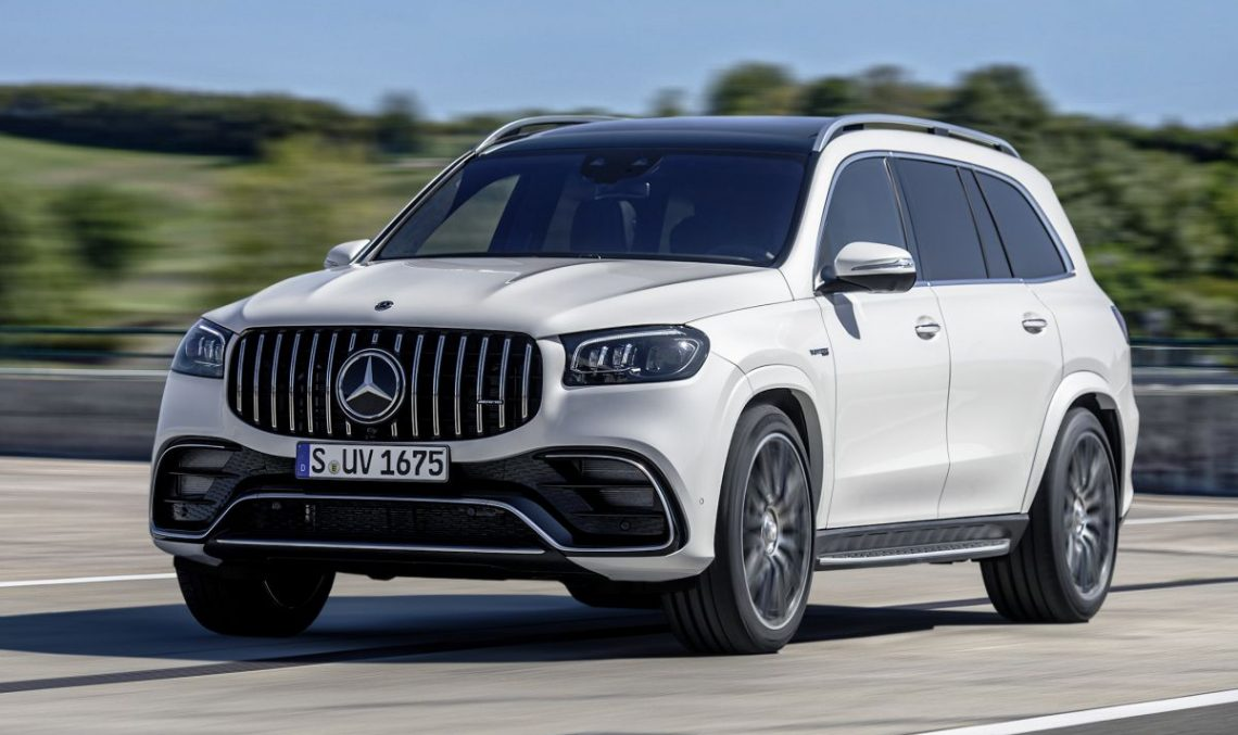 Goliath on steroids: Mercedes-AMG GLS 63 4Matic goes official in LA