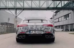 Electrified Mercedes-AMG GT 4-Door Coupe teased. When will it be ready?