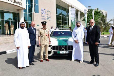 Mercedes-AMG GT 63 S police car in Dubai (2)
