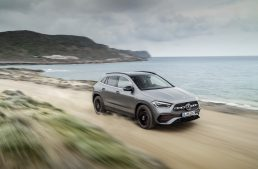 First virtual ride test in the new Mercedes-Benz GLA