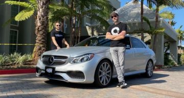 Cannonball Run: Mercedes-AMG E 63 gets in record time from New York to Los Angeles