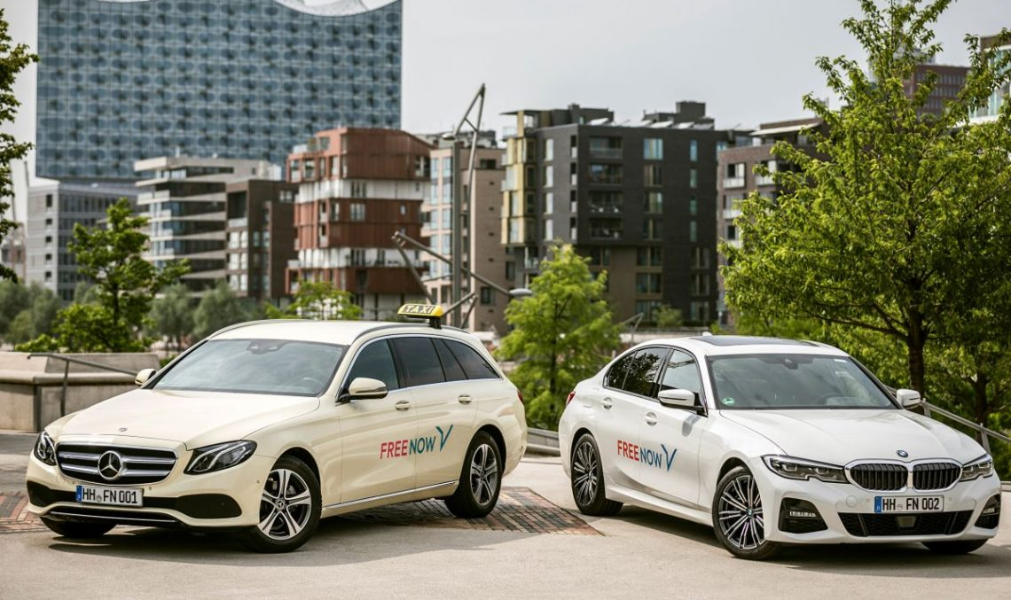 Daimler and BMW confident in the FreeNow car sharing platform