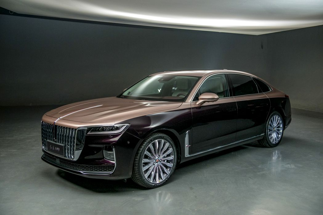 Mercedes-Maybach, beware! Hongqi H9 - This is the car that China throws  against the Mercedes