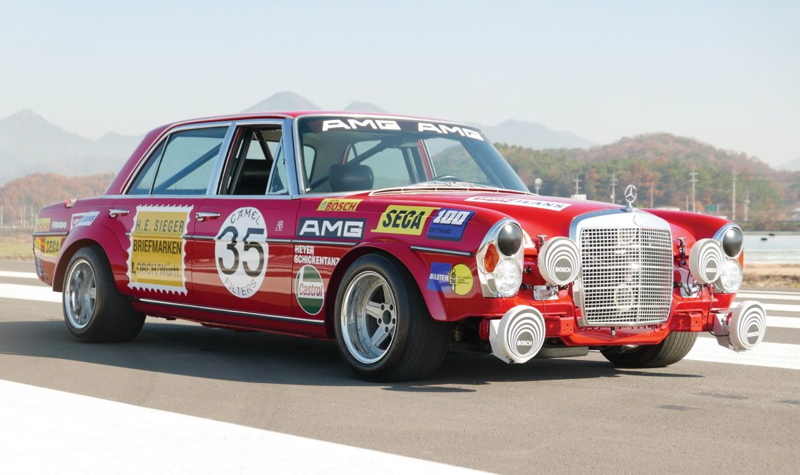 Mercedes 300 SEL 'Red Pig' Replica auctioned – How much is it worth?
