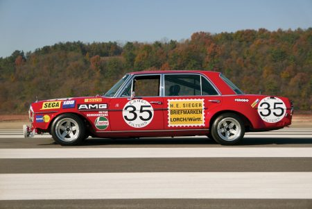 Mercedes 300 SEL 'Red Pig' Replica auctioned (5)