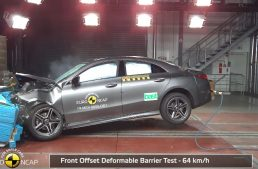 EuroNCAP selects a Mercedes-Benz model among Europe's safest cars in 2019