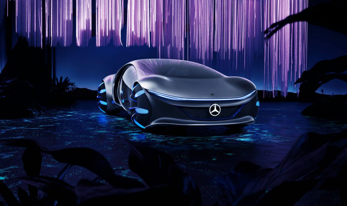 CES 2020: Mercedes-Benz Vision AVTR, the concept inspired by Avatar