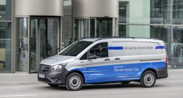 Ten Mercedes-Benz eVito delivered to e-commerce giant Amazon