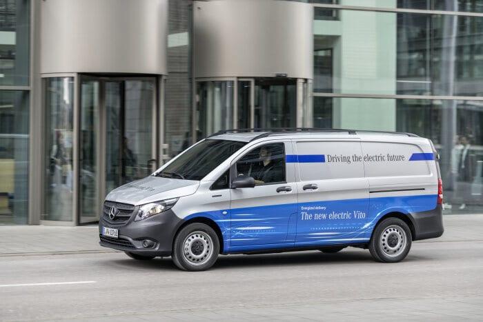 Ten Mercedes-Benz eVito delivered to e-commerce giant Amazon