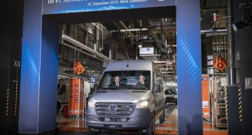 The electric 2020 Mercedes eSprinter enters production