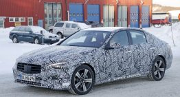 Scoop: All-new Mercedes C-Class looks like baby next-gen S-Class
