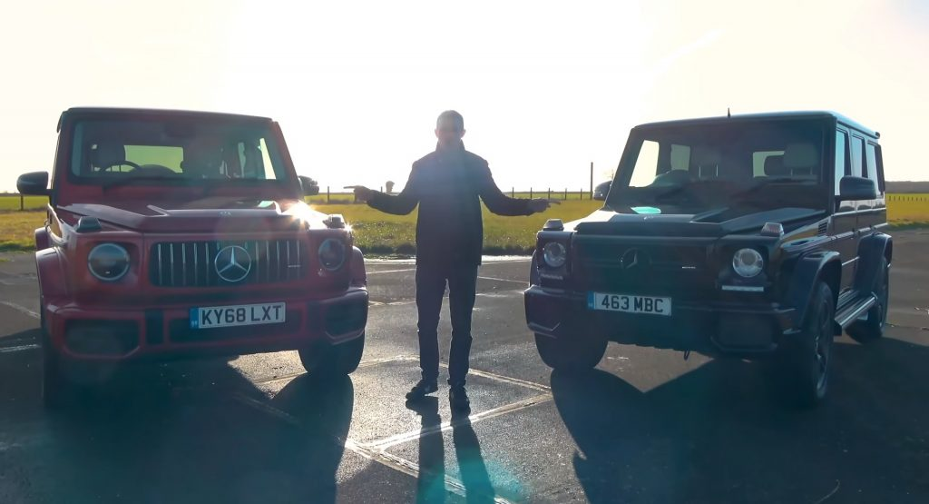Mercedes-AMG G63 old and new. How different they actually are