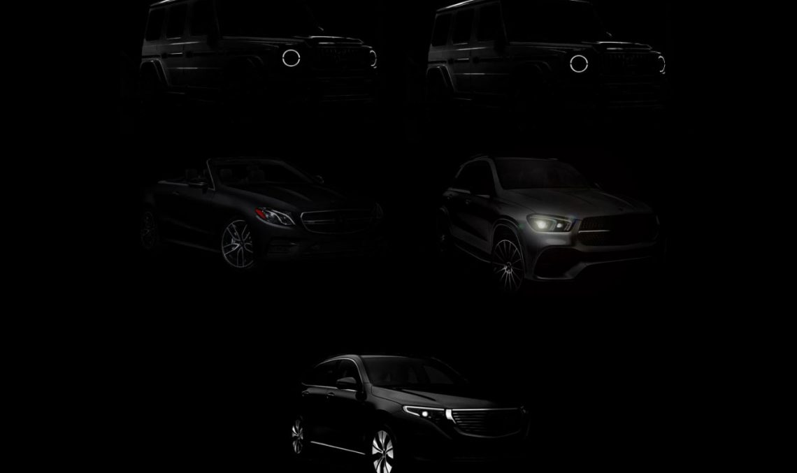 What is  Hofele preparing for Geneva? Tuned Mercedes models teased