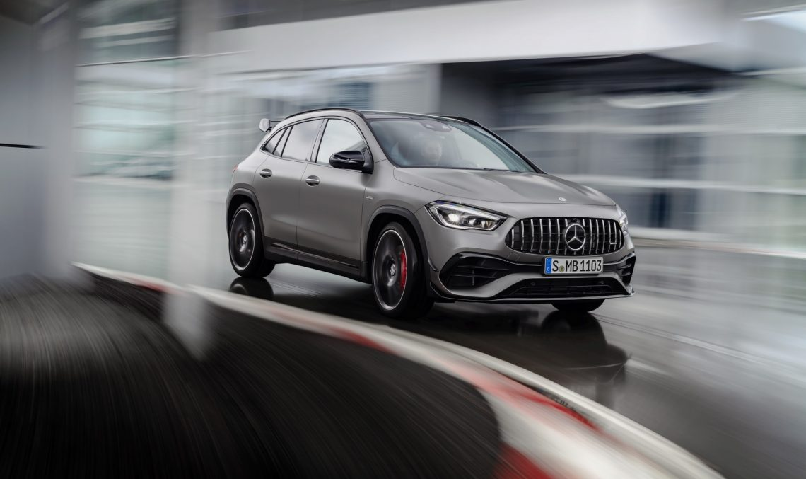 The new Mercedes-AMG GLA models can be ordered starting now. How much do they cost?