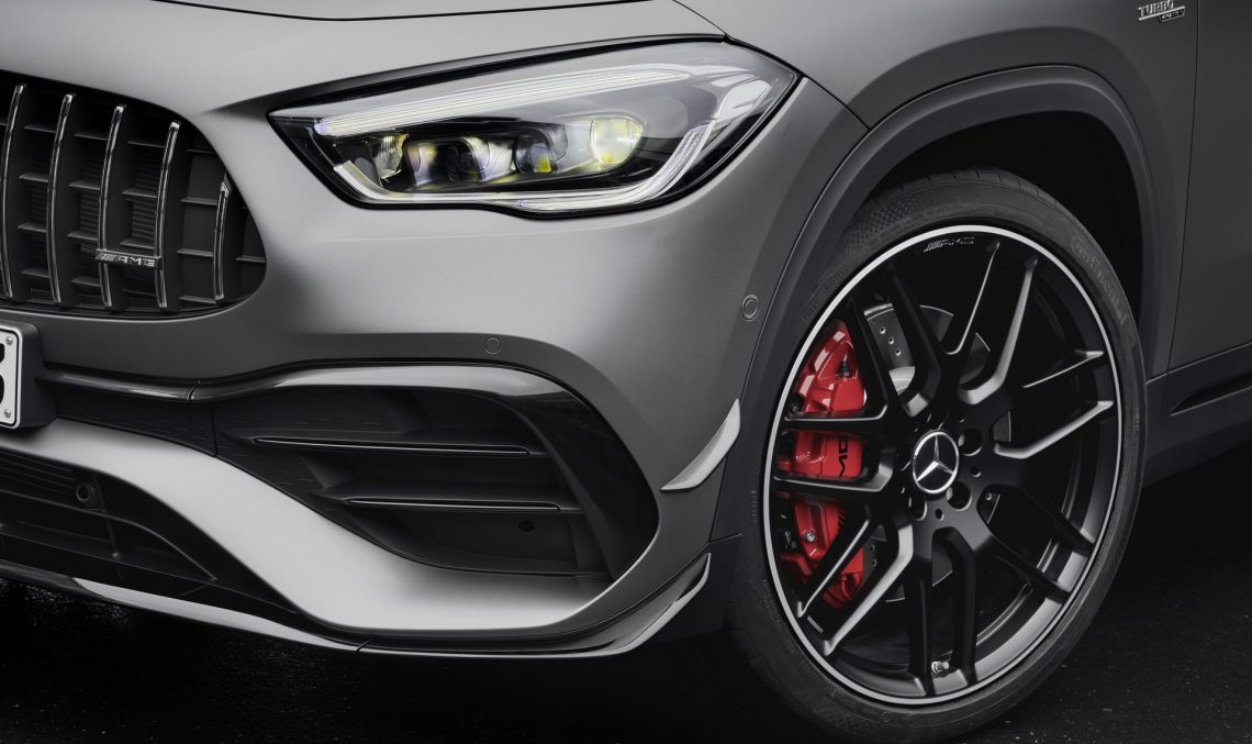 The new Mercedes-AMG GLA 45 4MATIC+ – Official photos and information