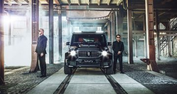 Mercedes-AMG Brabus Invicto is the armored G oligarchs dream of