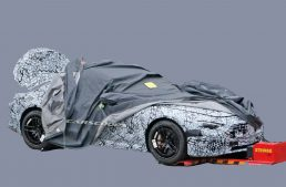 First pics! The all-new Mercedes SL looks very different