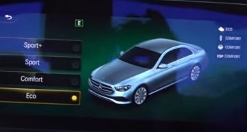 2020 Mercedes E-Class reveals front end design in new leak